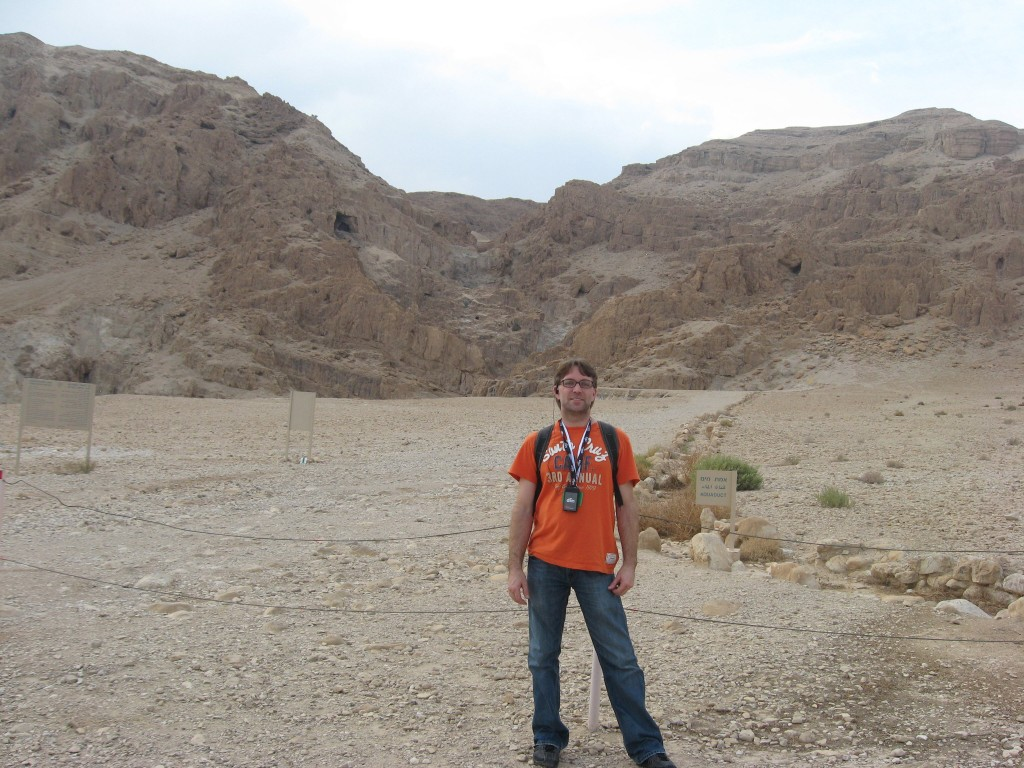 Dead Sea Scrolls - Me At The Qumran Caves In The West Bank