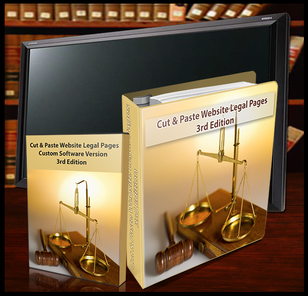 Website Legal Pages - 3rd Ed. (Software)